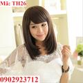 Tóc Giả Nữ Hàn Quốc Tặng Lưới - TH26