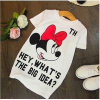 Đầm Mickey size đại cho bé