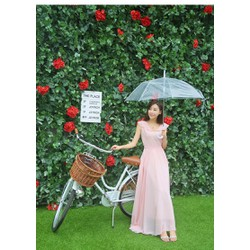 Ngọt ngào giữa  Mưa Hạ với đầm hồng xinh