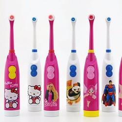 Bàn chải đánh răng điện Hello Kitty