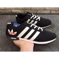 Giày Adidas Lá - Đen Full