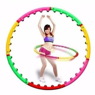Vòng lắc eo massage giảm mỡ bụng - vòng lắc eo hula hoop - VLE001-Z thumbnail