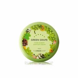 Kem dưỡng da tay và body The Face Shop Hand Body Cream Green Grape