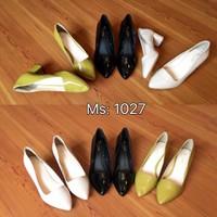 Giày gót vuông 5p 1027
