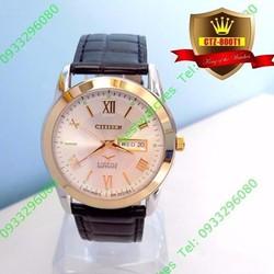Đồng hồ nam Citizen 800T1 nam tính và mạnh mẽ.