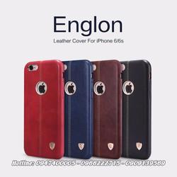 Ốp lưng iPhone 6 6S Nillkin Englon Leather Cover chính hãng da thật