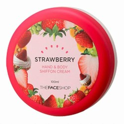 Kem dưỡng da tay và toàn thân TFS Strawberry Hand Body Shiffon Cream