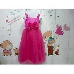 Đầm công chúa 2 dây