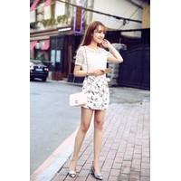 Chân váy hoa Hàn Quốc