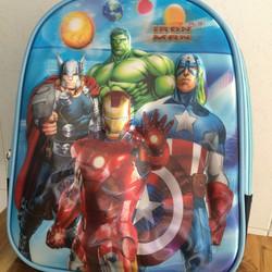 Balo 5D cho bé trai họa tiết siêu nhân IronMan