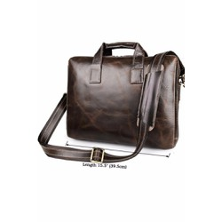 Túi xách nam da thật mẫu KNK09 màu Nâu sẫm