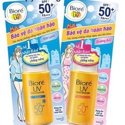 Kem chống nắng Biore thích hợp cho mọi loại da