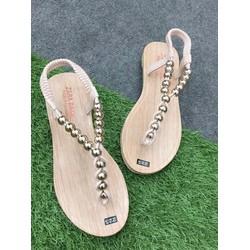 HÀNG CAO CẤP - Giày sandal trân châu