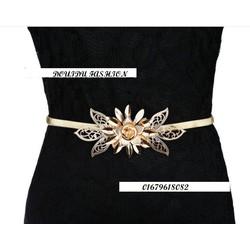 thắt lưng dây nịt nữ thời trang hoa Hải Đường thời trang cao cấp