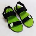 Giày sandal quai dù xanh lá cây