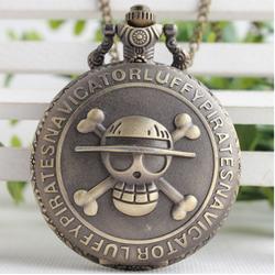Đồng hồ quả quýt hoạ tiết nổi Luffy - One Piece - Đảo Hải Tặc