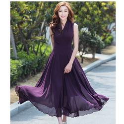 HÀNG NHẬP Đầm maxi dạ hội cao cấp phối eo cách điệu DANI