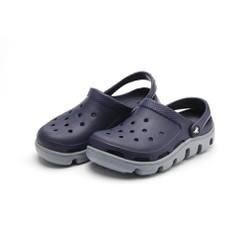 Dép sục crocs duet sport clog màu xanh đen