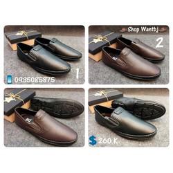 [Hàng Đã Về] Giày Lười Nam Chất Da 01 Size 38-42