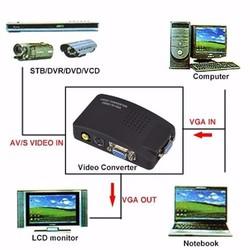 Bộ chuyển đổi AV SVideo sang VGA - AV SVideo to VGA