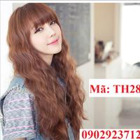 Tóc Giả Nữ Hàn Quốc Tặng Lưới - TH28