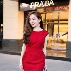 Đầm ôm công sở thiết kế tay con đơn giản xinh đẹp DOV856