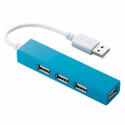 Bộ Chia Cổng USB 1 Ra 4 Elecom SS4B