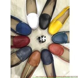 Giày mọi da nữ công sở chất liệu bền đẹp sang trọng GM120