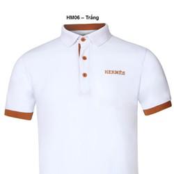 Áo thun Nam thương hiệu Hermes thời trang cao cấp – trăng