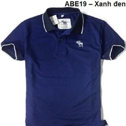 Áo thun thời trang Abercrombie và Fitch phối nam - Xanh đen