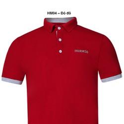 Áo thun Nam thương hiệu Hermes thời trang cao cấp – Đỏ đô