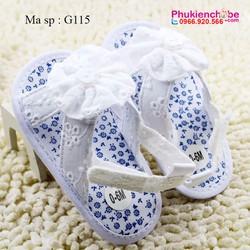 Giày tập đi bé gái 0 -18 tháng