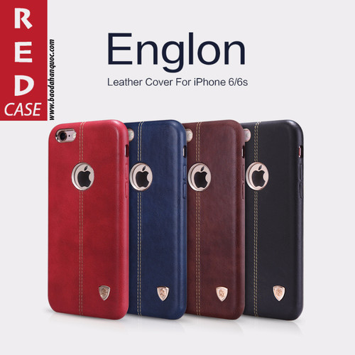 Ốp lưng  iPhone 6 | 6S | 6 Plus,Englon Leather Cover, hiệu NILLKIN