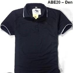 Áo thun thời trang Abercrombie và Fitch phối nam - đen