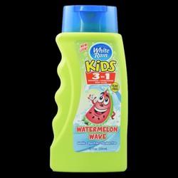 HÀNG XÁCH TAY Sữa tắm, gội và xả white rain kids 3 in 1 hương dưa hấu