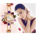 Đồng hồ nữ Trang cao cấp Hồng Kông GE076-vàng
