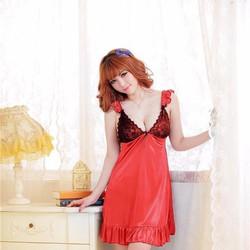 Đầm Ngủ Phi Thun Quyến Rũ Nhiều Màu