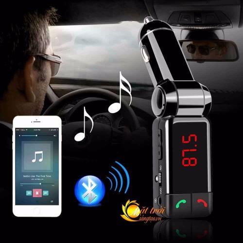 Bluetooth – FM Music Car BC06 siêu đa năng