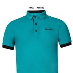 Áo thun Nam thương hiệu Hermes thời trang cao cấp – xanh lý