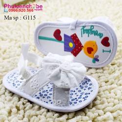Giày tập đi bé gái sơ sinh