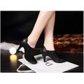 Giày  Boots nữ cổ ngắn sang trọng P2067