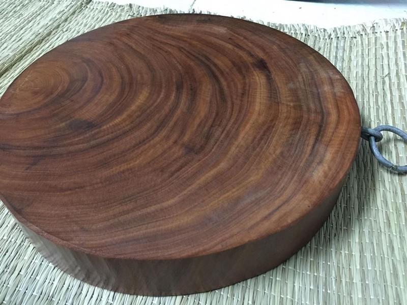 thớt tròn gỗ nghiến