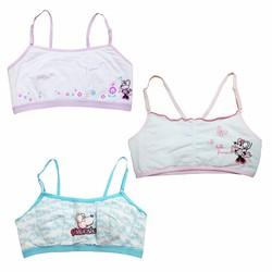 Bộ 3 áo ngực, áo lót bé gái mới lớn Thái Lan 01 - LyBi Shop