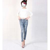 Quần jeans skinny rách Mã: QD1144