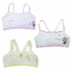 Bộ 3 áo ngực, áo lót bé gái mới lớn Thái Lan 02 - LyBi Shop