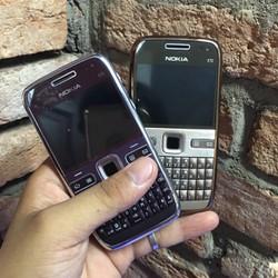 Nokia E72 chính hãng thay vỏ linh kiện mới gồm máy + pin + sạc