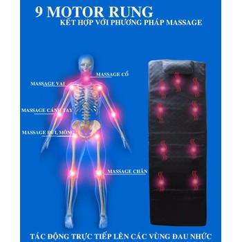 Nệm massage toàn thân nhiều chức năng