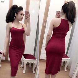 Đầm ôm 2 dây thời trang