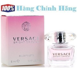 Nước hoa nữ mini VERSACE Bright Crystal EDT 5ml - NH44