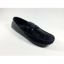 giày lười da cao cấp chữ H